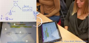 Bild Active Learning - von der handschriftlichen Zeichnung auf Papier zur Tablet-Mitschrift