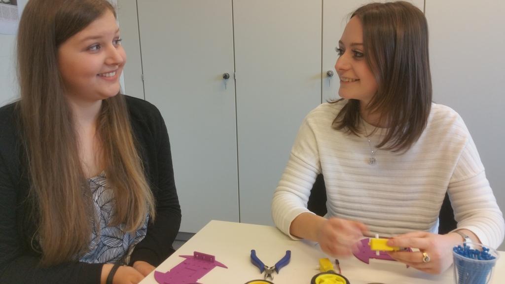 Yvonne Hommen und Alexandra Hausmann gestalten den Girls`Day 2019