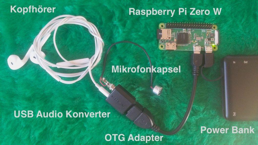 Testaufbau: Natur-Sound-Schnipsel mit dem Raspberry Pi aufnehmen