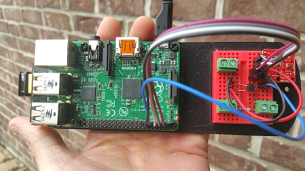 Raspberry Pi mit Temperatursensor DS18B20