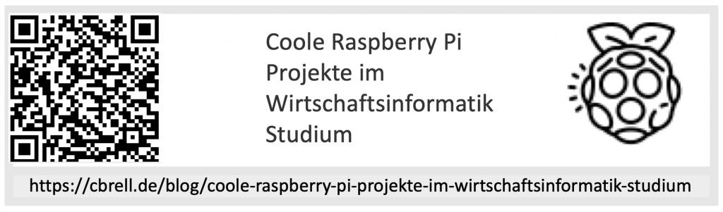 Coole Raspberry Pi Projekte QR Code