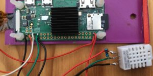 Feuchtemessung DHT22 Raspberry Pi