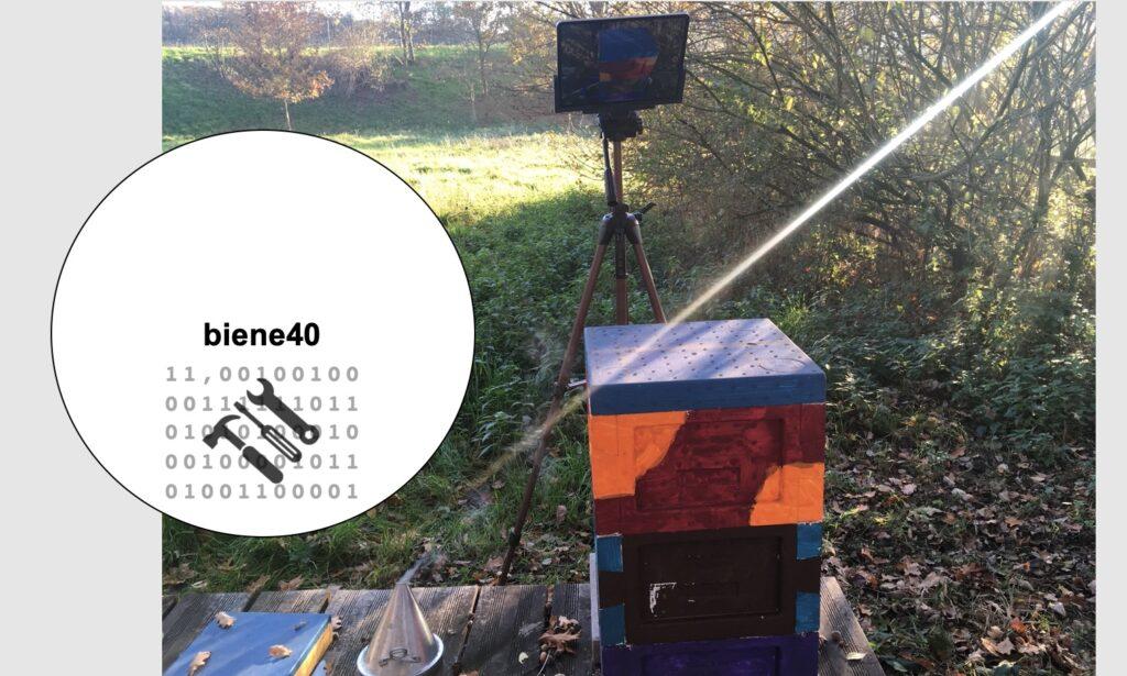 Honigbienen in Mini Plus - für die Digitalisierung in der Bienenhaltung