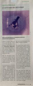 Artikel Hindenburger Lebensnah an der HSNR