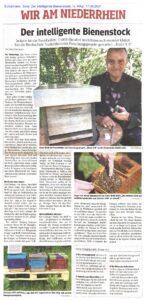 Artikel WAZ Der intelligente Bienenstock