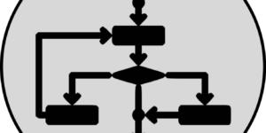 flussdiagramm icon